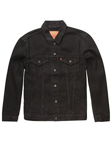 Levi's Men's The Trucker Jacket, Berkman/Black, X-Large