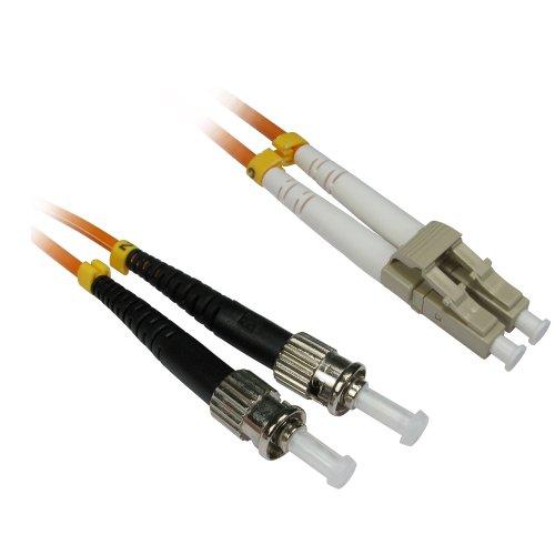 CDL Micro FB2M-LCST-300 Cable de Fibra optica 30 m LSZH OM2 2X LC 2X ST Naranja - Cable de Fibra óptica (30 m, LSZH, OM2, 2X LC, 2X ST, Naranja)