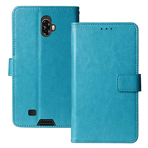 Lankashi Premium Retro Business Flip Leder Tasche Schütz Hülle Handy Handy TPU Silikon Hülle Für Blackview BV5900 5.7