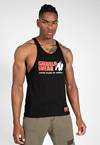 Gorilla Wear Classic Tank Top - Bodybuilding und Fitness Bekleidung Herren, 3XL