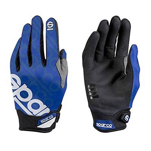 Sparco 002093AZ3L Handschuhe Meca 3 Tg. L Blau, L