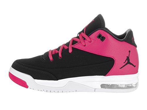 Nike Jordan Flight Origin 3 GG, Zapatillas de Baloncesto Mujer, Negro (Negro (Black/Black-Vivid Pink-White), 37.5 EU