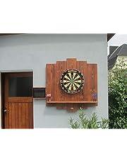 WDS Darts Sports Outdoor - Wooden Dartboard Surround (dart-muurbescherming, opvangring, dartring)