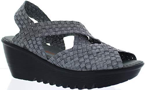 B M Bernie Mev New York Women's Brighten Wedge Sandal