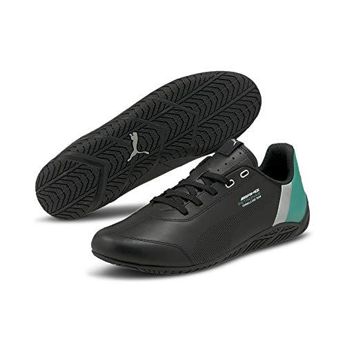 PUMA Mercedes F1 Ridge Cat - Zapatillas de motorista, color Negro, talla 41 EU Schmal