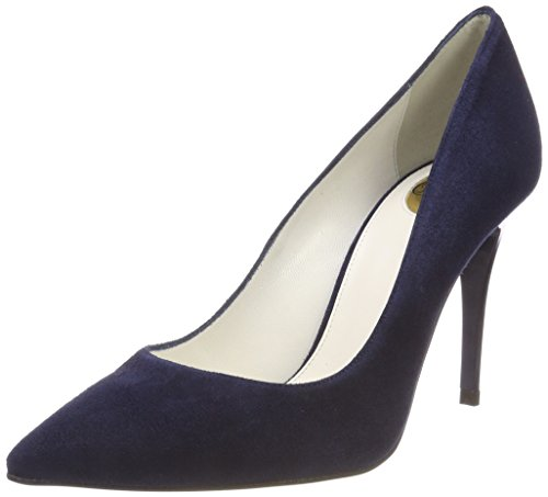 Buffalo Damen 11877-305 Pumps, Blau (Marino 000), 39 EU
