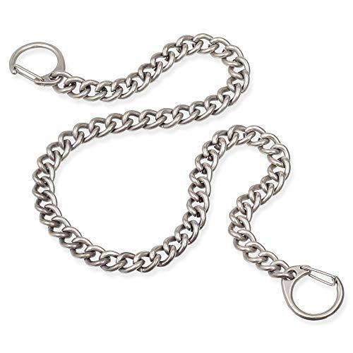 Sicherheitskette - Metallkette Kellnerkette - Kette für Kellner Geldbörse Kellnerbörse Bikerbörsen