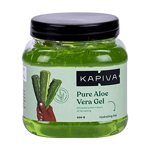 Kapiva Pure Aloe Vera Skin Gel - Hydrating Gel for Face - 500g