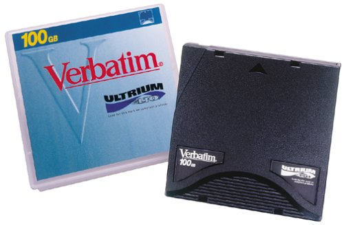Verbatim LTO Ultrium 100GB Tape Compatible with All LTO Drives