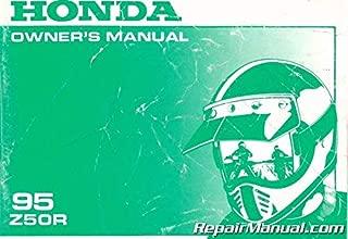 U31GW8660 Used 1995 Honda Z50R Motorcycle Owners Manual