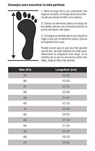 Feliz Caminar - Zuecos Sanitarios Flotantes, Blanco, 41 EU