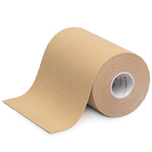 Pinotape Sport Kinesiology Tape | 5 m x 10 cm|molto adesivo 16,4' x 4'