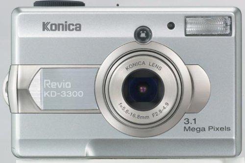 Konica Revio KD 3300 - Cámara Digital Compacta 3.2 MP (1.5 Pulgadas LCD, 3X Zoom Óptico)