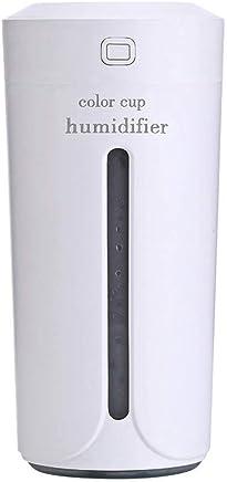 Corey 230ML和風加湿器テーブルアロマ式加湿器超音波式加湿器アロマディフューザー小型ナシ型殺菌空気清浄機超静音LEDライト間接照明防乾時間設定室内オフィス干渉花粉症対策 (Color : White)