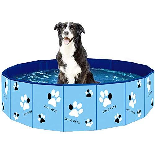 Giocattolo dell'Acqua Pet Dog Animali Domestici Cane Piscina, Gonfiabile Anello di Nuoto del Mat per Il Gatto del Cane,A