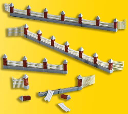 Viessmann 38630 - H0 Zaun gemauert, 77 cm