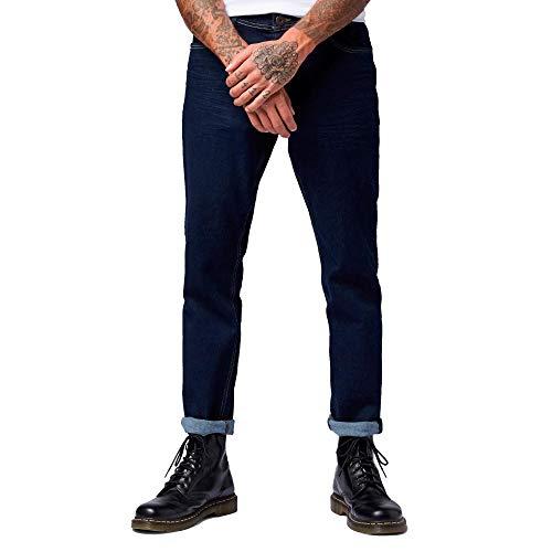 TOM TAILOR Herren Slim Jeans Josh Slim, Schwarz (Clean Rinsed Schwarz De 10115), 36W / 36L