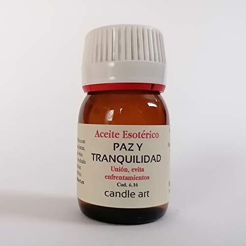 Candle Art Aceite con extracto de Plantas Paz y Tranquilidad - UNGIR Velas