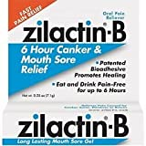 ZILACTIN-B CANKER & MOUTH SORE RELIEF GEL .25 oz (7.1G)