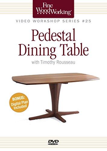 Pedestal Dining Table (Fine Woodworking Video Workshop)