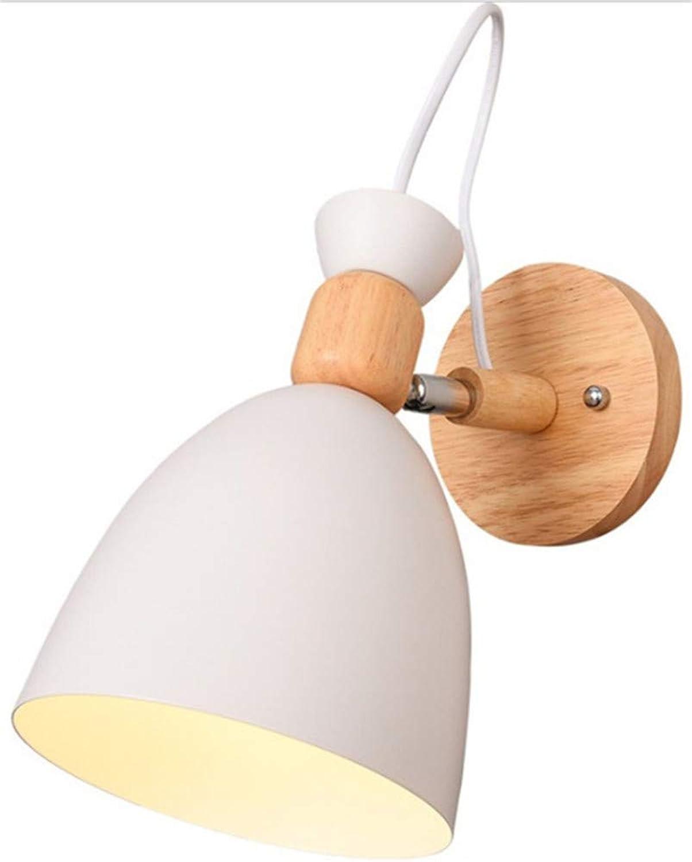 XXSPU Wandlampe Nachttischlampe Schlafzimmerlampe Korridorlampe Restaurantlampe Nachtlampe Leselampe Tischlampe Tischlampe, A wei, mit Lichtquelle