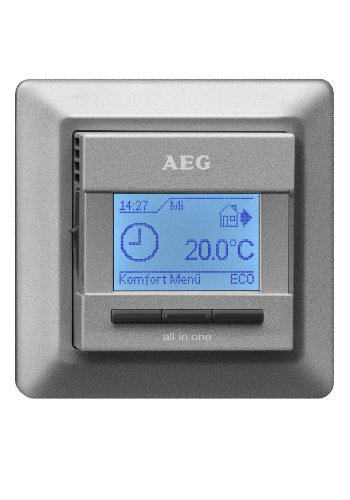 AEG 229702FRTD 903S Comfort, Argento, 231682