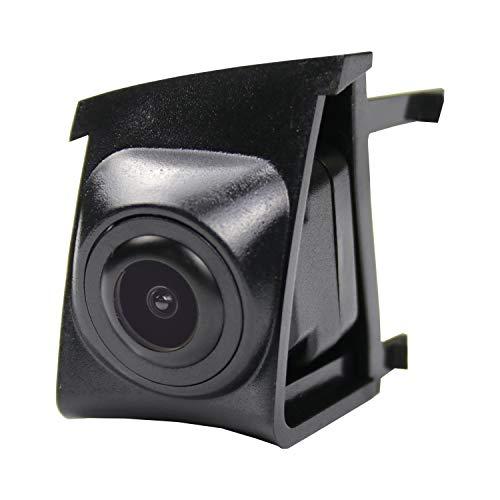 Front-Kamera- perfekt,170° Wasserfest 1/3 HD CCD Emblem Kamera (Schwarz) & unauffällig ins Front-Emblem integriert für BMW 3 Seies F30/F31/F34 2011-2018