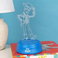 Disney Toy Story 4 Woody Laser Etched Light
