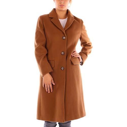 CARACTERE Cappotto Helen Color Cammello Taglia 44 (44)