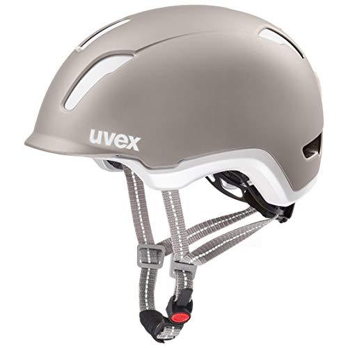 Uvex Unisex– Erwachsene, city 9 Fahrradhelm, grey, 53-57 cm