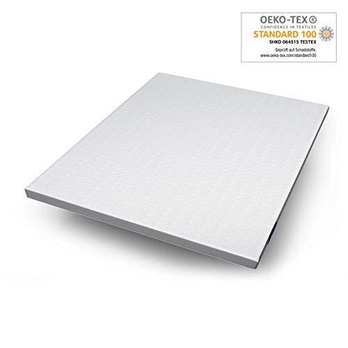 Genius Eazzzy Topper (180x200x7 cm) Matratzenauflage für Matratzen & Boxspringbetten | Viskoelastischer Matratzentopper
