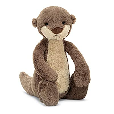 Jellycat Bashful Otter Stuffed Animal, Medium 12 inches by Jellycat