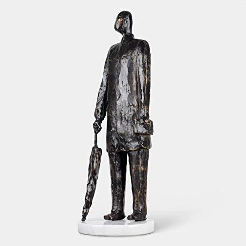 XZJJZ Gusto Nordico ghisa Figure Figure Ornamenti Arredamento Arredamento Arte Astratta Decorazioni a casa