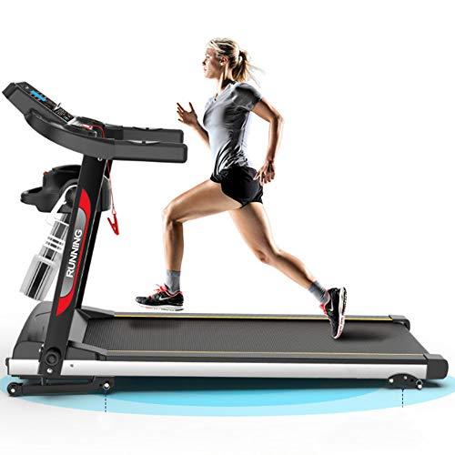 Beckye Cinta de Correr Profesional - Plegable-Altavoces-hasta 100kg-Unisex Adulto, Compacta y Plegable.Ideal para casa o Oficina, Cardio Fitness Sport - inclinable + Plegable