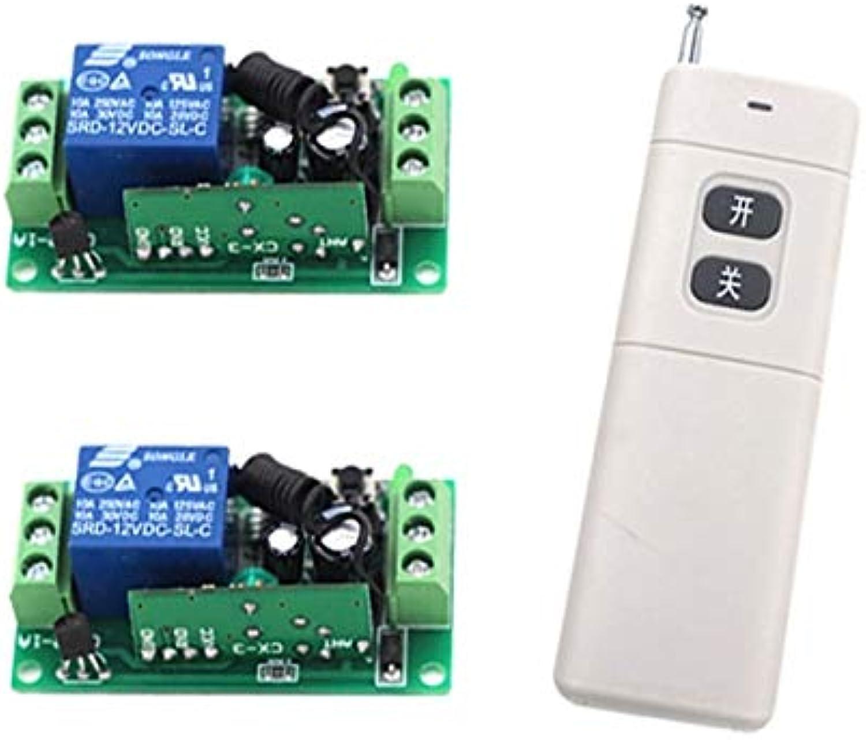 New DC9V 12V 24V Wireless Remote Control Switch 315 433MHZ Telecomando Transmitter with Receiver  (color  DC24V)