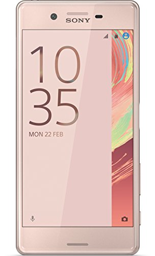 Sony Xperia X Smartphone (5 Zoll (12,7 cm) Touch-Bildschirm, 32GB interner Speicher, Android 6.0) Rose Gold
