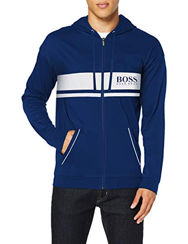BOSS Herren Authentic Jacket H Sweatshirt, Medium Blue426, M