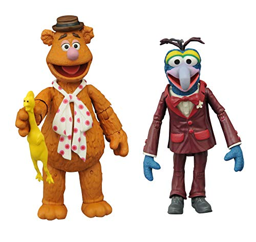 DIAMOND SELECT TOYS The Muppets Best of Series 1: Gonzo & Fozzie Action Figure Two-Pack, Multicolor
