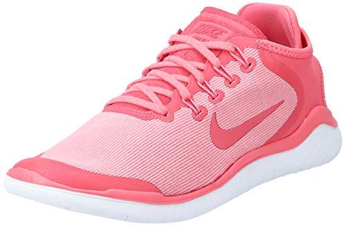Nike Damen Free Rn 2018 Sun Traillaufschuhe, Pink (Sea Coral/Tropical Rosa/Vast Grigio 800), 39 EU
