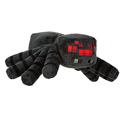 JINX Minecraft Spider Plush Stuffed Toy, Black, 16' Leg Span