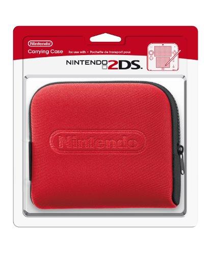 Nintendo 2DS - Tasche (schwarz + rot)