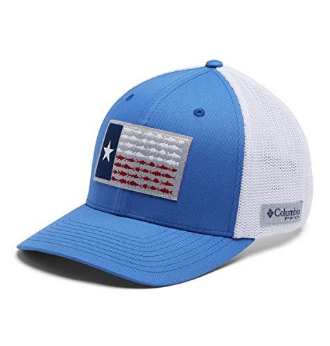 Columbia PFG - Gorra de Bola con Bandera de Malla, Color Azul...