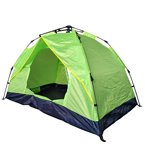 Tent Beach, Sun Shade Shelter, Camping, Automatic Pop up Waterproof Dome for Fishing Camping Travel Hiking Climbing 1-2 persons (Color : Green)