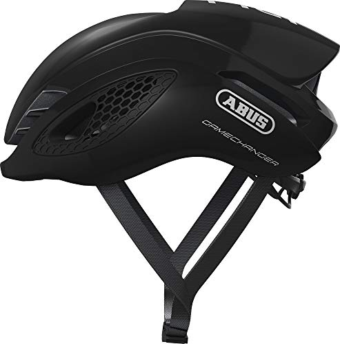 ABUS Gamechanger Helm Shiny Black Kopfumfang L | 59-62cm 2021 Fahrradhelm