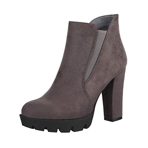Elara Botines Mujer Ankle Boots Chunkyrayan