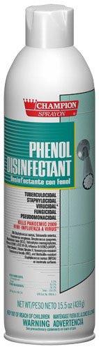 Champion Phenol Disinfectant, 15.5 oz, Aerosol, Case of 12 (CHP5160)