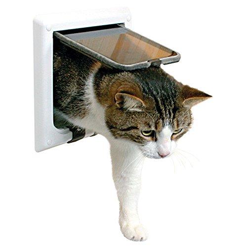TRIXIE Tunnel Element pour chatière Numéro d'Article 3864, Blanc