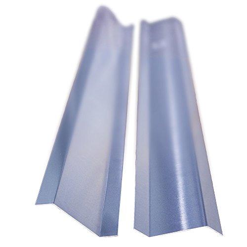 Aluminium Z-Profil 20/60/20 45 Grad Kanten, Länge 2 Meter, Haus und Gartenprofil HG 8