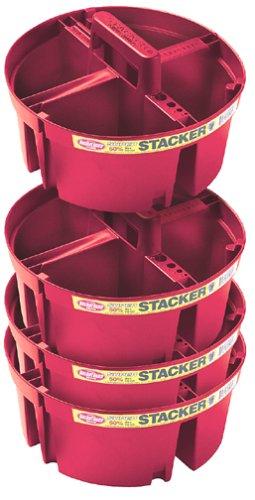Bucket Boss Brand 15054-CS04 4-Piece Super Stacker Kit