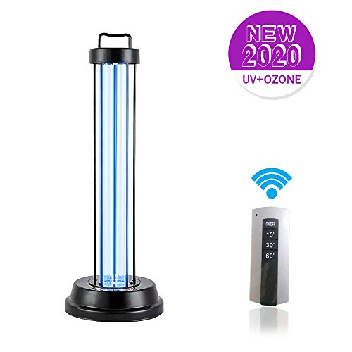 Cheapest Price! Aynice 38W Ultraviolet Germicidal Lamp UV Disinfection Light Mobile Quartz Tube 360 ...